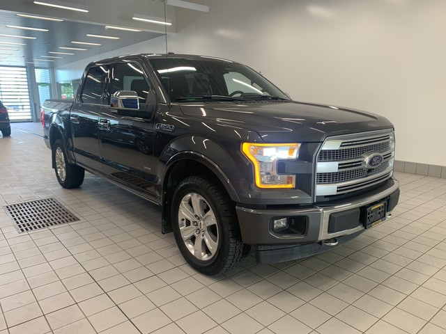 Pre Owned 2017 Ford F 150 Platinum Four Wheel Drive Pickup Truck