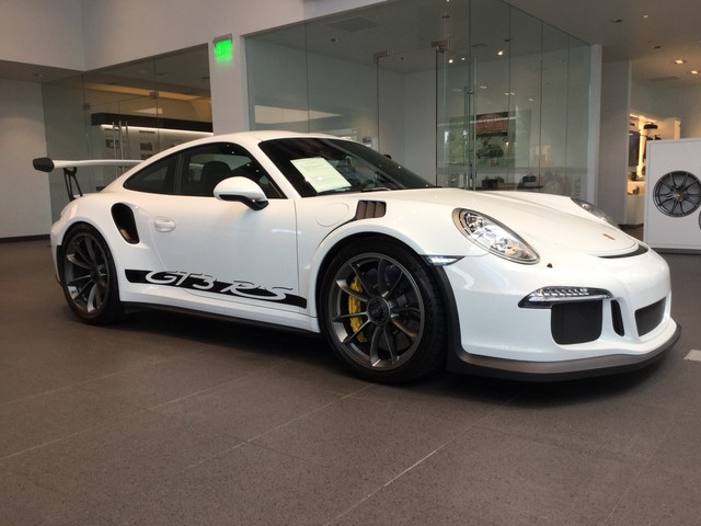 Pre Owned 2016 Porsche 911 Gt3 Rs Coupe In Anchorage Pu1619